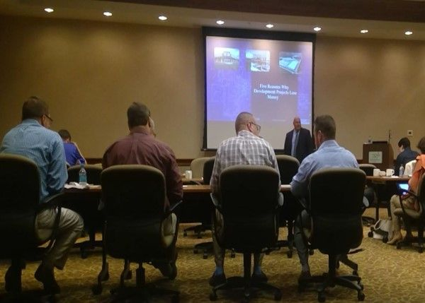 CodeFi Presents The Five Reasons Why Constructions Projects Lose Money at West Virginia Bankers Assoc.